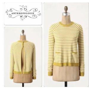 Anthro Charlie & Robin Rearward Sweater Medium
